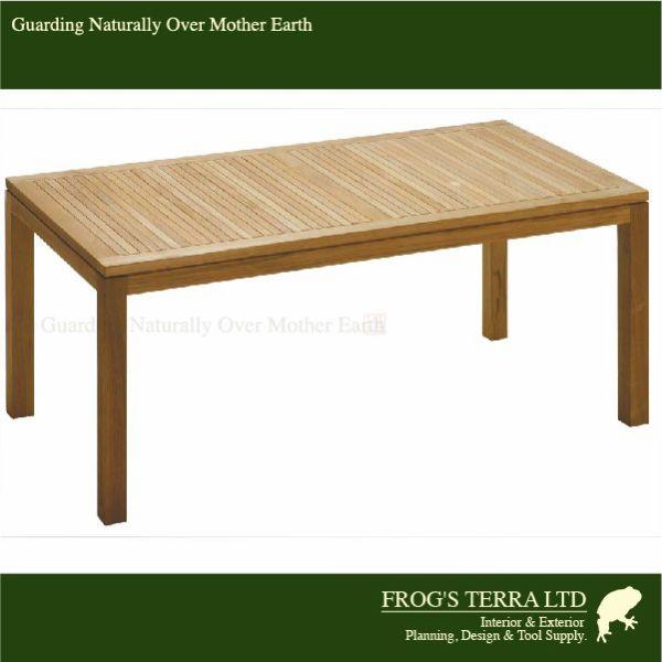 Rectangular Table 140 01-111 Istana Terrace イスタナテラス ダイニングテーブル140 チーク材 屋外家具 ガーデンファニチャー