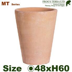 MT036・L・16号(直径48cm×H60cm)(底穴あり)(陶器鉢/テラコッタ)(大型プランター)