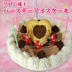 (New)フロム蔵王バースデーアイスケーキ【送料無料】