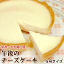 訳あってお買い得!午後のチーズケーキ(5号)
