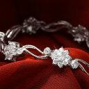 【祝★楽天1位受賞】ニューヨークから届く!ブレスレット レディース ブランド プラチナ 加工 誕生日 プレゼント 結婚…
