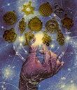 リング付【メール便可】古代神聖幾何学「おみくじ」エナジーアミュレットオラクル フラワオブライフメタトロン