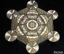 古代神聖幾何学 メタトロン キューブ フルーツオブライフエナジーカード 幸運 開運 護符