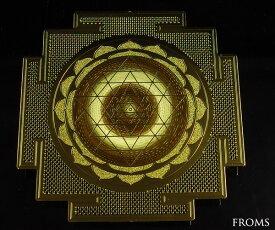 送料無料 古代神聖幾何学 東洋の神秘図形 ヤントラ エナジーカード