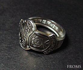 R0LEX ロレックス ノベルティ ビンテージ スプーン リング 指輪 ハンドメイド メンズ