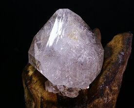 一点物 約128g ニューヨーク州産 巨大大粒 ハーキマーダイヤモンド トライゴー二ック バーナクル レコードキーパー レインボー タビー マスタークリスタル 約128g 59x53x37mm 【レアストーン】