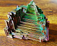 一点物希少巨大約235g元素番号83ビスマス結晶ビスマス鉱石パワーストーンレアポイント10倍
