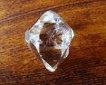 ポイント10倍AAAハーキマーダイヤモンド原石ニューヨーク州スピリチュアル天然石パワーストーン送料無料最高の透明度ペンダントオプション有約24x17x13mm約27ct