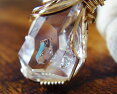 K14GF製ハーキマーダイヤモンドAAA原石ペンダントネックレスニューヨーク州スピリチュアル天然石パワーストーン送料無料約25x18x15mm約6.91gポイント10倍saleタイムリンクイシスレコードキーパーマスタークリスタル一点物