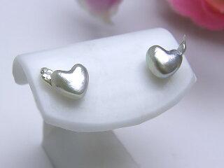 真珠ピアス送料無料K14WGあこやハートシェイプアメリカンピアスパールジュエリーアメリカン真珠婚30年おすすめ品あこや真珠プレゼントハート人気誕生日1点限り