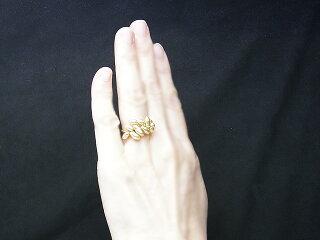 真珠リング送料無料R390129K18南洋ケシリングパールジュエリー入学式真珠婚30年おすすめ品金色ケシ上品人気記念日