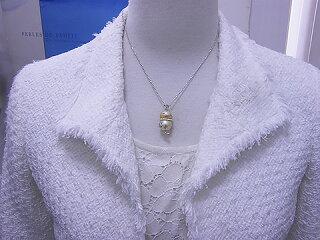 ほなな通貨コーナーの商品南洋金色エメラルドメタボなチーウーペンダントパールジュエリー真珠婚30年可愛いグリーンプレゼントお祝い人気