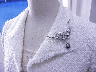 真珠ブローチ送料無料あこや真珠&有核淡水ブローチ兼ペンダントパールジュエリー入学式真珠婚30年おすすめ品淡水真珠あこや真珠パーティー豪華人気誕生日