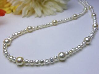 真珠ネックレス送料無料あこや&あこやケシネックレスパール入学式真珠婚30年おすすめ品あこや真珠プレゼントロング人気誕生日