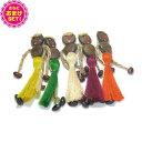 【あす楽対応】【開運グッズ】【正規品】ボージョボー人形(Wishing Doll Bo jo Bo Dolls) ホログラムシール付き+さら…