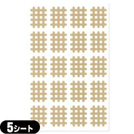 【ネコポス全国送料無料】【スパイラルの田中】エクセル スパイラルテープ Aタイプ(20ピース)業務用:5シート(100ピース) - 打ち抜きタイプの伸縮性粘着テーピング。【smtb-s】