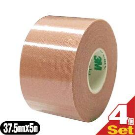 【あす楽対応】【テーピングテープ】3M(スリーエム) マルチポアスポーツ レギュラー(伸縮固定テープ) 37.5mm×5m×4巻(半ケース) - 3.75cm×5m。キネシオロジー固定からスポーツ固定まで、幅広い用途で活躍するオールマイティテープです。