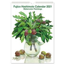2021年 カレンダー L 橋本不二子 インテリア|cal-02