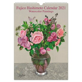 2021年 カレンダー L 橋本不二子 Roses ローズ|cal-10