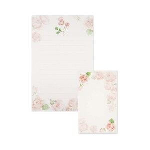 レターセット ローズ フロンティア 大人 デザイン おしゃれ かわいい シンプル バラ柄 花柄