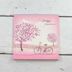 便箋 桜と自転車 フロンティア デザイン おしゃれ 大人
