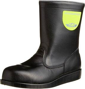 [ノサックス] 安全靴 舗装靴 HSK半長靴 道路舗装用 HSK208 メンズ 黒 28cm(28cm)