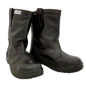 おたふく手袋 半長靴(踏抜き防止鋼板入) 25.5cm JW-777