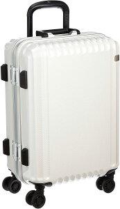 [エース トーキョー] スーツケース パリセイドF 32L 3.5kg 機内持込可 05571 47 cm ホワイトカーボン