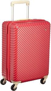 [ハント] スーツケース マイン ストッパー付き 48cm 33L 05745 機内持ち込み可 48 cm 2.7kg アネモネレッド