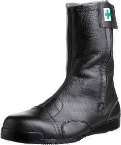 [ノサックス] 安全靴 高所用JIS規格 みやじま鳶半長靴 M208 メンズ 黒 27cm(27cm)