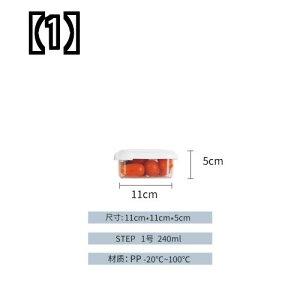 (予約販売5〜8営業日での発送)韓国は、冷蔵庫収納アーティファクト長方形の生鮮保管ボックス冷凍ボックスと弁当ボックス餃子ボックスChangSinを輸入しました