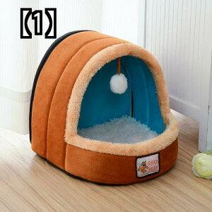 ユルト 子犬犬舎 取り外して洗える テディ ペット用品 小型犬 猫用犬舎 夏用