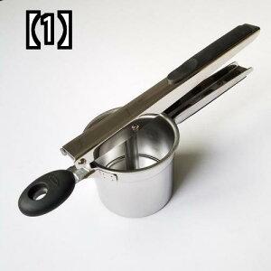 マッシャー ポテト ジャガイモ つぶす 絞る プレス 高級 ステンレス製 手動 ジューサー 果物 ブドウ ジュース 絞り器 多機能 簡単 便利 シンプル