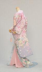 花嫁和装 花嫁衣裳 着物 レンタル フルセットレンタル オーガンジー打掛 色打掛レンタル 打ち掛け 結婚式 貸衣装 フルフル かしいしょう