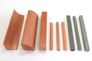 【水切り、角水切り面木】KC−13L(片面台形)ウッディRT 2メートル300本入合成木材 メーカー直送品
