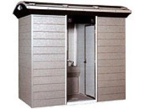 【TUーCOF3SMJ コムズトイレ 屋外トイレユニット ハマネツ (小便・手洗・兼用) 簡易水洗タイプ】