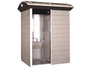 【TUーCO2MJ コムズトイレ 屋外トイレユニット ハマネツ (手洗・兼用) 水洗タイプ】