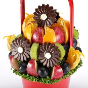 フルーツブーケ Garden (ガーデン) Mサイズ フルーツギフト お祝い サプライズ プレゼント 誕生日 結婚 記念日 結婚祝い インスタ映え 贈り物 スイーツ ケーキ 果物