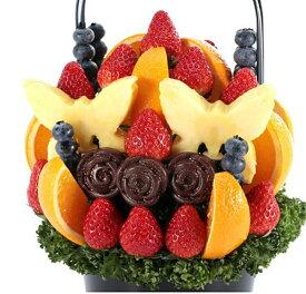 Labyrinthe (ラビリンス) Mサイズ フルーツギフト いちご 苺 チョコレート ホワイトデー お祝い サプライズ プレゼント 誕生日 結婚 記念日 結婚祝い インスタ映え 贈り物 スイーツ ケーキ 果物