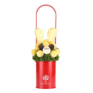 フルーツブーケ I am Rabbit(アイアムラビット) フルーツギフト お祝い サプライズ プレゼント 誕生日 結婚 記念日 結婚祝い インスタ映え 贈り物 スイーツ ケーキ 果物