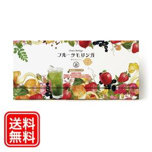 フルーツモリンガ(1箱) フルーツ青汁 送料無料 美味しい 無添加 国産 モリンガ 乳酸菌 パウダー 置き換え ダイエット 酵素 コラーゲン 難消化性デキストリン 大麦若葉 野菜不足 サプリ スム