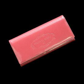 フルッティディボスコ ALBA Tint 財布 レディース 長財布 薄い 薄型 個性的 エナメル ピンク/ブルー/グレー/ボルドー/アプリコット/ライトブルー