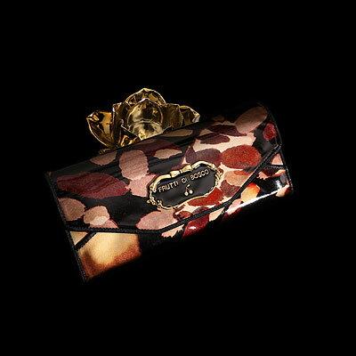 真夜中の灯りをとじこめたギャルソン財布 Salu nightlamp Silver(サルー ナイトランプシルバー)(可愛い 個性的 カラフル 派手)