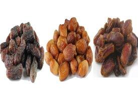 イラン産 デーツ 食べくらべ(3種デーツ ピアロム ハース スタメラン) ドライフルーツ 無添加 砂糖不使用 ハラール 全国送料無料