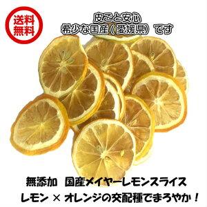 無添加( 無添加国産メイヤーレモンスライス 300g FSY) ドライレモン ドライフルーツ 全国送料無料 フォンダンウォーター 300g 砂糖不使用 輪切り レモン