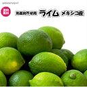 防腐剤不使用(メキシコ産 ライム 1kg 常温)約8〜11個 ポストハーベスト農薬不使用 メキシコ 全国 送料無料 青…