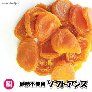 砂糖不使用ソフトアンズ ブレインハイム種 アメリカ産1kg ドライフルーツ 送料無料(アンズ1kg)アプリコット ドライあんず ドライ杏 アンズ あんず 杏 チャック袋 1kg 半生タイプ US産 種抜