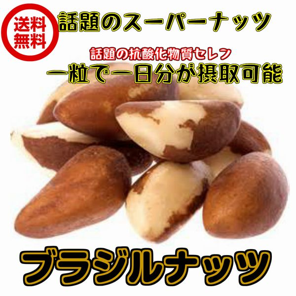 (ブラジルナッツ 160g/80g×2パック)非加熱 ブラジル産 無塩・無添加 ナッツ 全国送料無料 生ナッツ