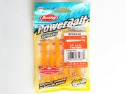 パワーベイトソルトウォーターTテールシャッド2.5インチOGオレンジグロー