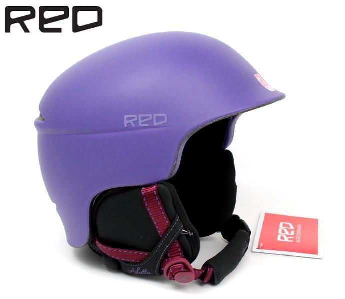 RED(レッド)byBURTON(バートン) レディース女性用スキー、スノーボード用ヘルメット「ALETTA」(VIOLET)253883-506